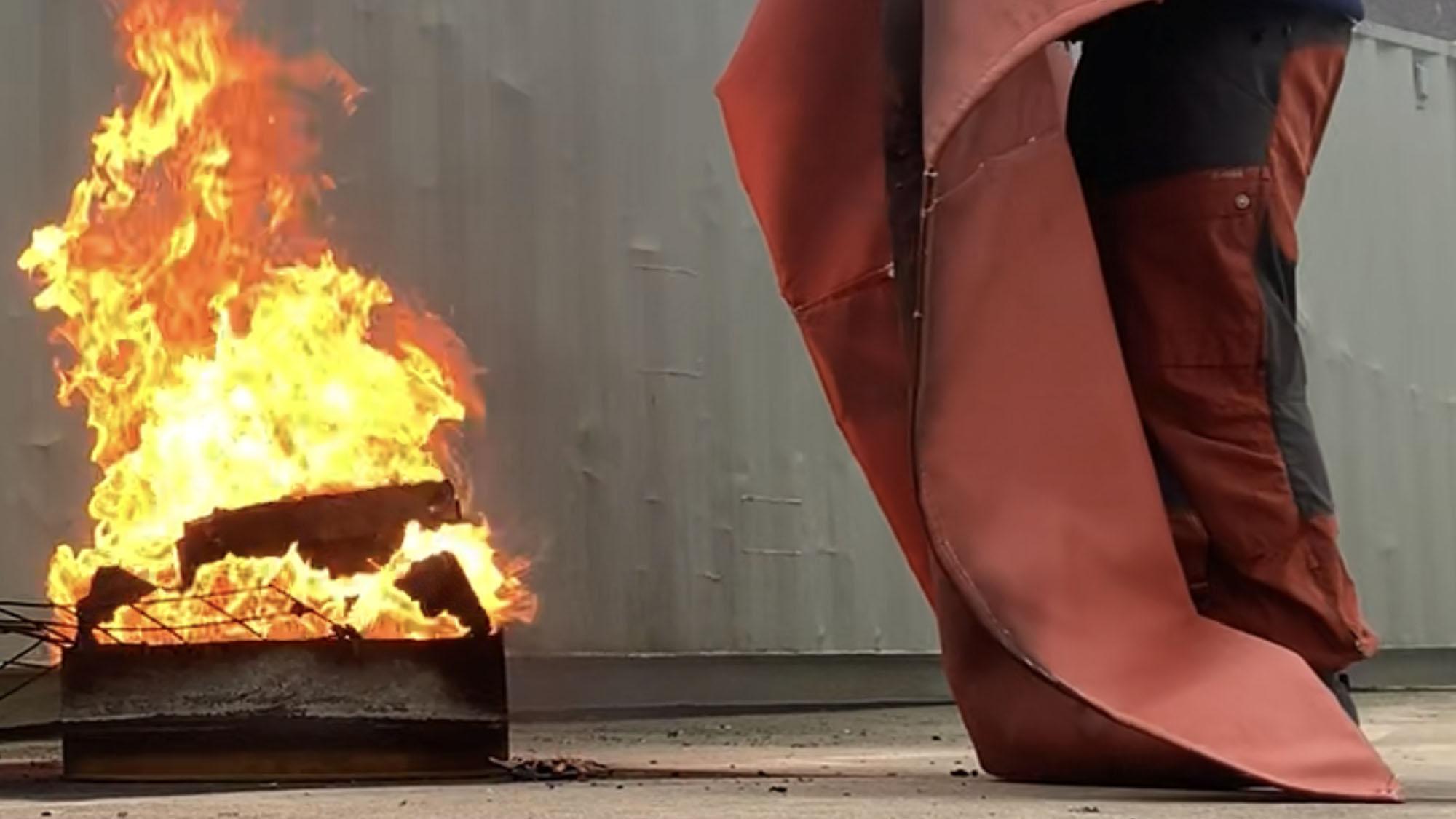 Lithium branddekens