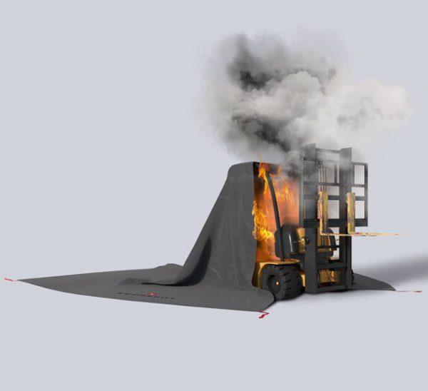 branddekens voor heftrucks